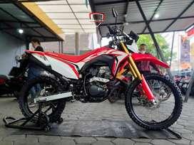 Obral Honda CRF 150 L 2019 Merah favorit istimewa, Mustika Motor