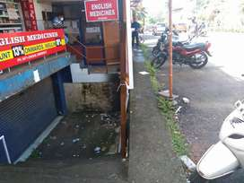 A 300 sq ft commercial space for rent at Paruthippara jn
