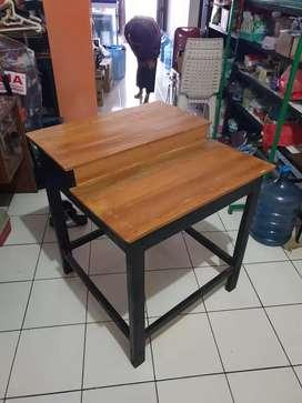 Meja Pajangan Meja Dagang Hiasan Meja Kayu Meja Makan Dapur