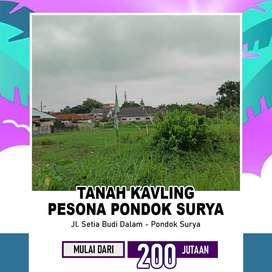 Tanah Kavling medan Jl. Setia Budi No.Dalam, Helvetia Tim., Kec. Medan