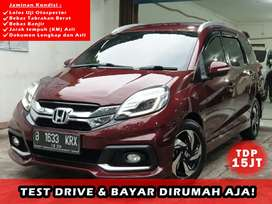 Honda Mobilio RS AT Thn 2015 TDP 15 jt Good Condition