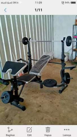 Promosi murah bench press set id 781