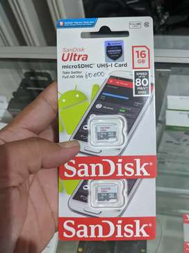 Sandisk 16gb new