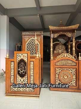 Mimbar masjid podium E492 talk