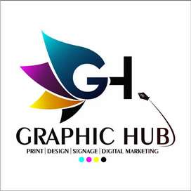 Need graphics diginer and If you know how to operate a machine