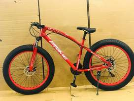 ALL IMPORTED Fat Tyre 21 Gears Cycle Brand New