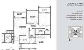 4 BHK + Servant Flat for Sale in Godrej 85, Gurgaon