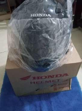 Helm Honda full face baru