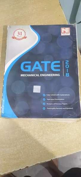Gate mechanical previous year