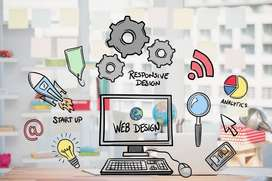 Website Development & Graphics designing