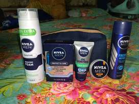 Nivea product all 5 in pack for cheap price