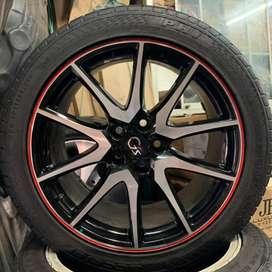Velg 19 & Ban Asli Toyota ALPHARD GS SPORT cocok innova rush camry dll