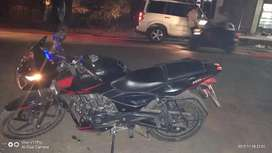 Pulsar 150 twin disc black red cmbination