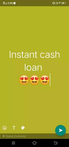 Instant Cash loan available hurry up