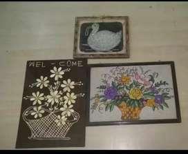 Antique Handmade Craft Frames for sale...