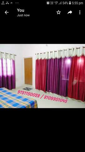 Affordable rooms in Borsi with 24/7 water supply & electricity.