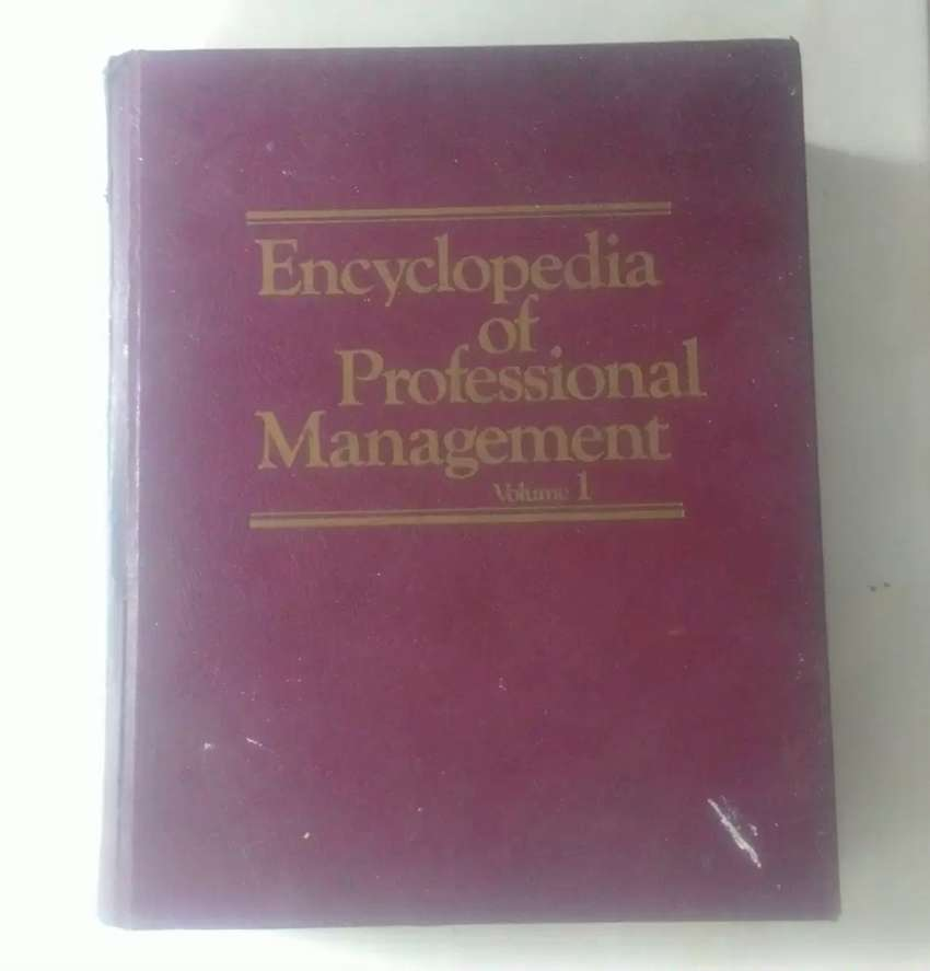 ENCYCLOPEDIA OF PROFESSIONAL MANAGEMENT 1978 (LANGKA/COLLECTOR ONLY)