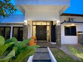 Rumah mewah nyaman dengan konsep open layout