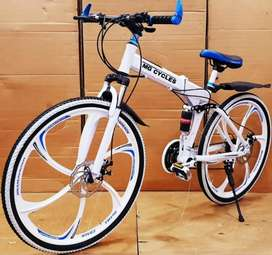 NEW FOLDING CYCLE 21 GEARS AVAILABLE