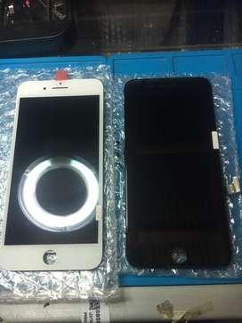 Layar lcd iphone 7 plus sudah termasuk pemasangan