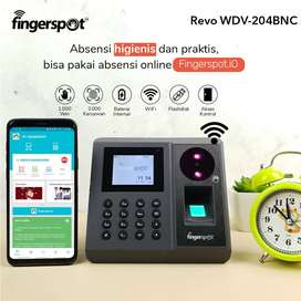 Fingerspot Revo WDV-204BNC, Mesin Absensi Support WIFI