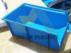 Plastic Stackable Bins & Spare parts bins for Tools & Industrial usage