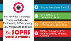 Wanted photo studio work knowing person north chennai