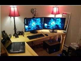 Komputer set Asus core i5 Asus render gaming ultra libas + Vga RX550