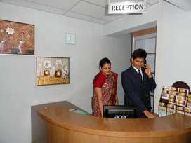 Receptionist & Front office Job Opening For Male And Female Both