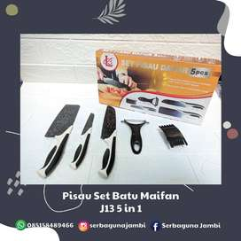 Knife Set 5 Pcs + 1 Ceramic Peeler ( J13 )