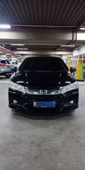 Honda CITY E CVT Automatic hitam 2015 Low KM