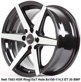 velg modifikasi HSR ring15x7 hole8x114,3 et35 NE6
