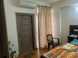 Fully furnished society flat for rent in Vaishali Nagar