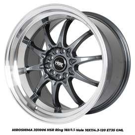 velg JD1006 HSR R18X85 H10X114,3-120 ET30 GML