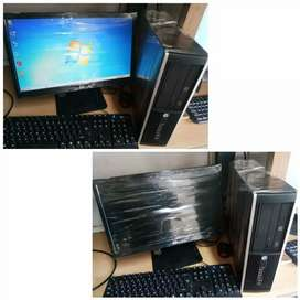 "HP branded core i5 RD gen with 19"" LED keybod mouse"