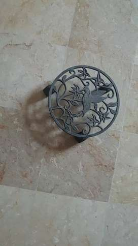 1 iron stand imported decor