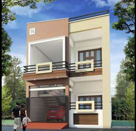 4BHK home in jankipuram Gardens.