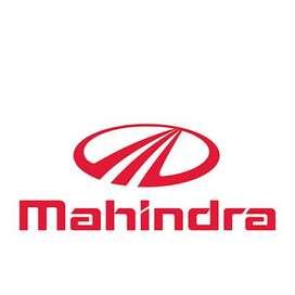 JOB OPENING FOR MAHINDRA COMPANY