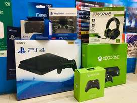 X-BOX One and PS4