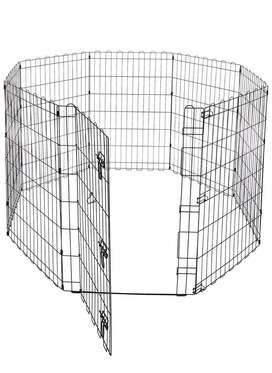 Foldable Playpen for Pet of All Size - Amazon Basic