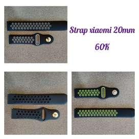 STRAP/BAND XIAOMI AMAZFIT BIP DAN GTS 20MM