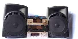 new speaker pasif 15 amplifer tv box keybord mouse barang jos bagus