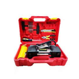 Double Cylinder Air Compressor Tool Kit Tire / Tyre Pressure Inflator