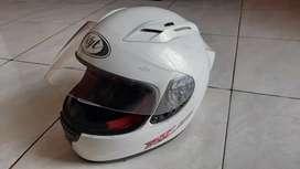 Helm KYT RC SEVEN (DOT) | Warna Putih, Ukuran M