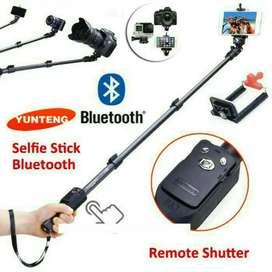 Tongsis bluetooth kabel 1meter free ongkir