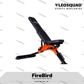 FIREBIRD ADJUSTABLE SUPER BENCH - GYM BENCH - FOR HOME USE - LEOSQUAD