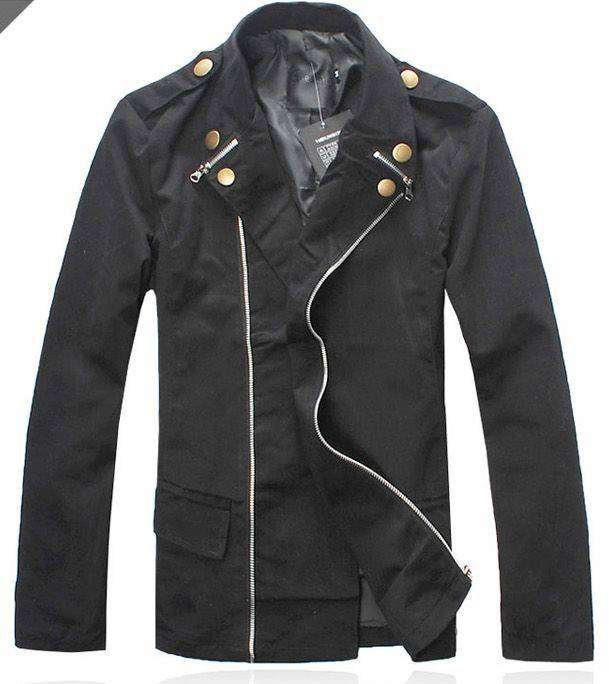 Jacket Korean Double Zipper Lee Min Hoo Style SK-08 0