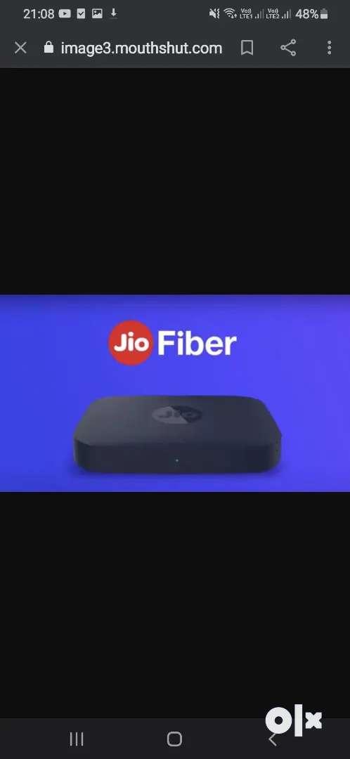 Jio fiber bordband