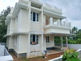 New build 4 bhk 1800 sqft 4.75 cent at nedumbassrry Chengamand chumkam