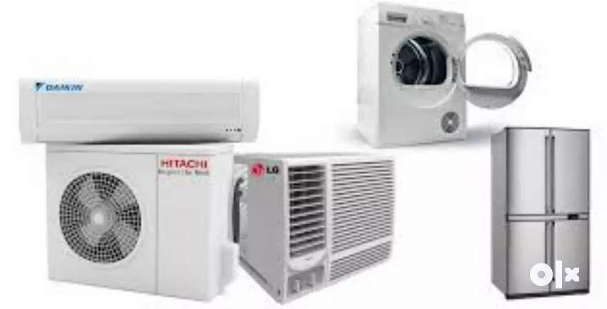 We repair and Service all types of Ac and washing machine 0
